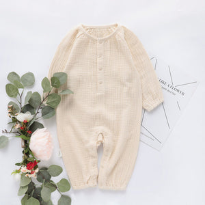 Fall Prairie Romper (4 Colors)