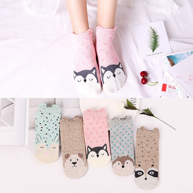 Forest Friends Socks