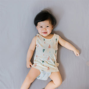 For the Love of Trees Baby Tank (White)