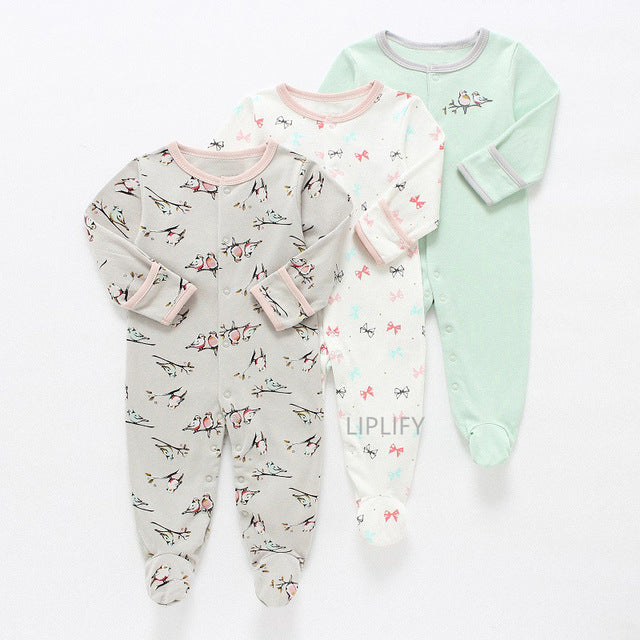 Sweet Vintage Bird Dreams (PJ Set-3)