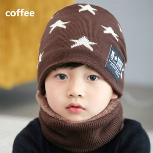 Warm Beanie Hat (2 Styles, Stars or Basic)