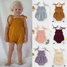 Load image into Gallery viewer, Smocked Onesie (Several Colors)