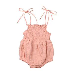Smocked Onesie (Several Colors)