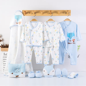 Newborn Gift Set: Fox (3 Color Options)