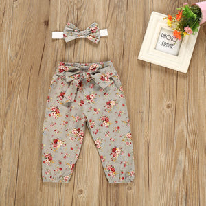 Floral Baby Set