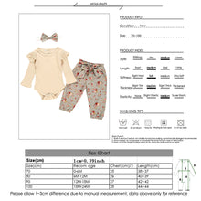 Load image into Gallery viewer, Floral Baby Set