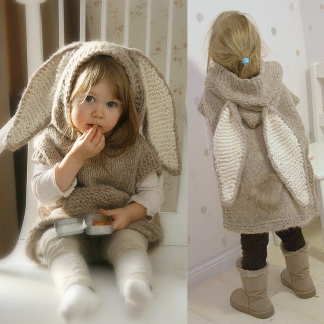 Winter Snuggle Bunny Sweater