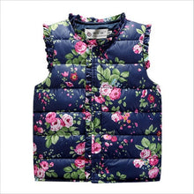 Load image into Gallery viewer, Floral Puff Vest (2 Colors)