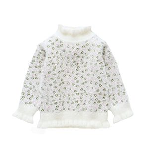 Petite Floral Sweater (3 Colors Options)