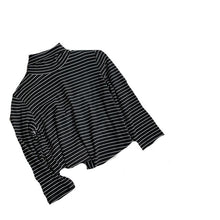 Load image into Gallery viewer, Cotton Stretch Turtleneck