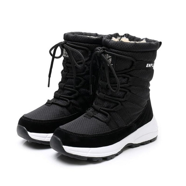 Winter Lace-up Boots