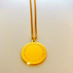 Paradise Gold Necklace