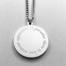 Load image into Gallery viewer, Paradise Necklace - Sterling Silver Plated