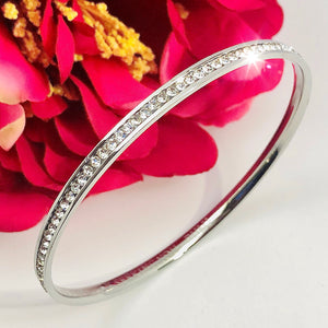 NEW! RUMInate Collection - Rumi quotes Silver bangle