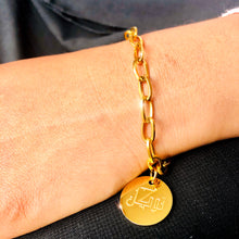 Load image into Gallery viewer, Tawakkul Gold Charm Bracelet