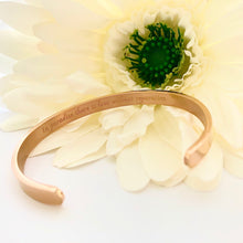 Load image into Gallery viewer, NEW! Paradise Rose Gold Cuff Bangle
