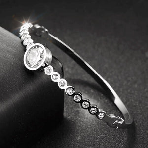 "NEW! ""Sabr - this too shall pass"" Silver Bangle"