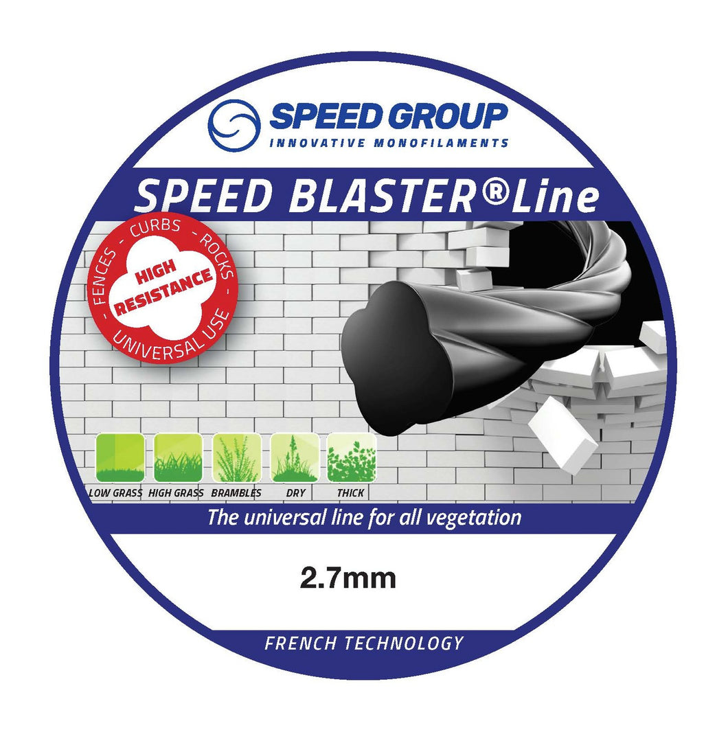 Speed Blaster Pre-cut Trimmer Line 2.7mm 150pc