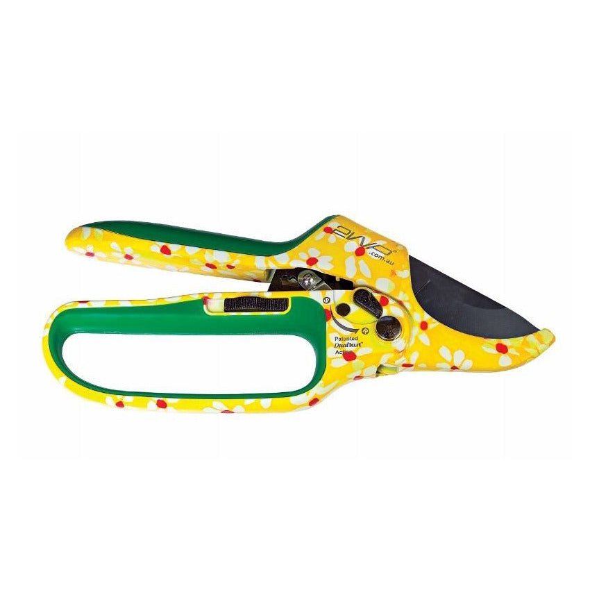 DualKut Mk. VI - Ratchet Secateurs - Daisy