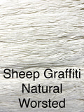 Natural worsted