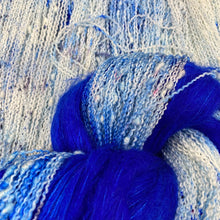 Load image into Gallery viewer, Blue-blue mohair extra set