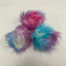 "Load image into Gallery viewer, Faux Fur 3"" - 4"" Pompoms"