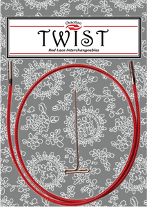 "Twist Red Cable / 14"" large,Twist Red Cable / 14"" mini"