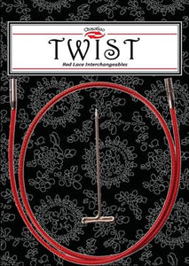 Twist Red Cable / 22 small