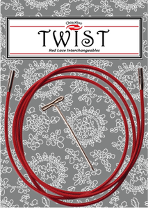 "Twist Red Cable / 50"" small,Twist Red Cable / 30"" mini"