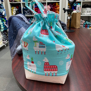 Llama Christmas Price Bag with Handle