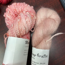 Load image into Gallery viewer, Swimming Up Stream & Pink Champagne Mohair