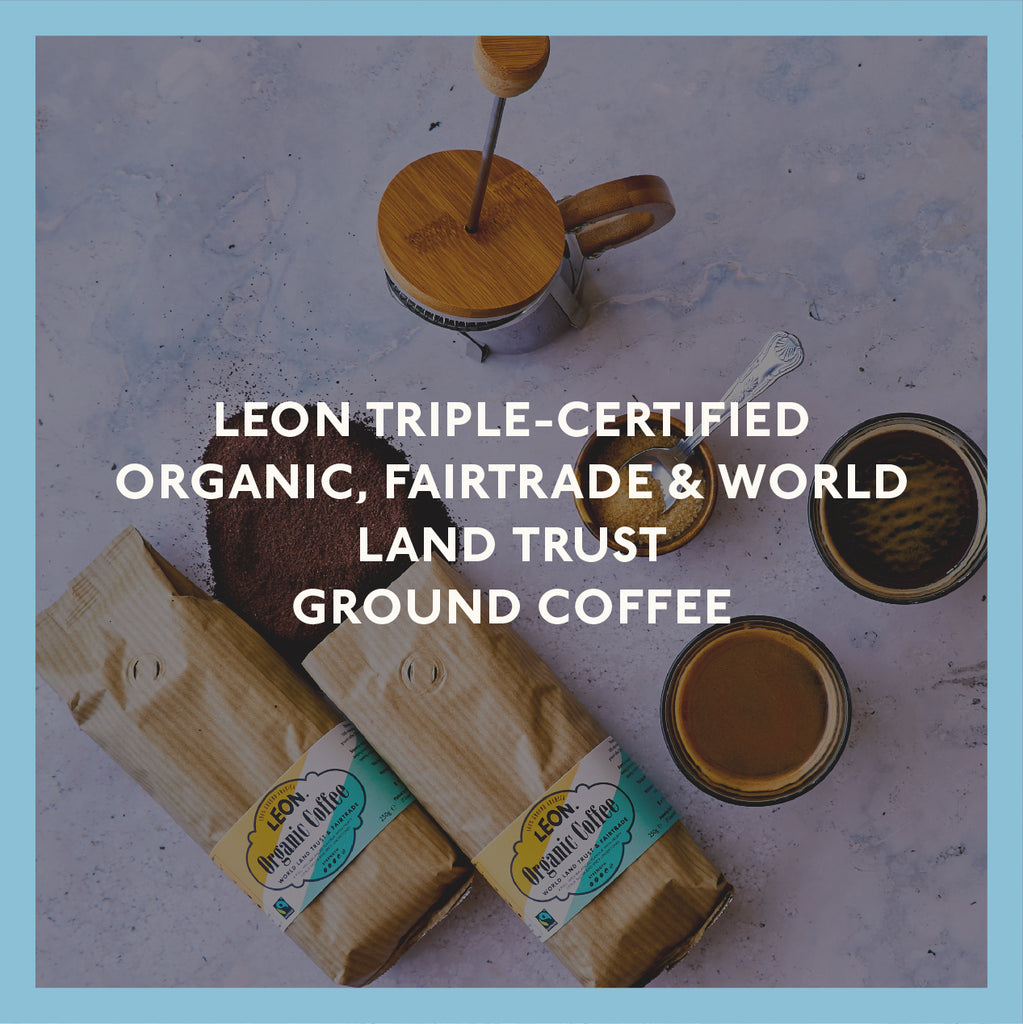 LEON Organic Coffee at Home