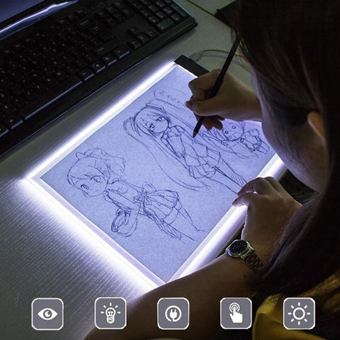 Drawing tablet LED electronic