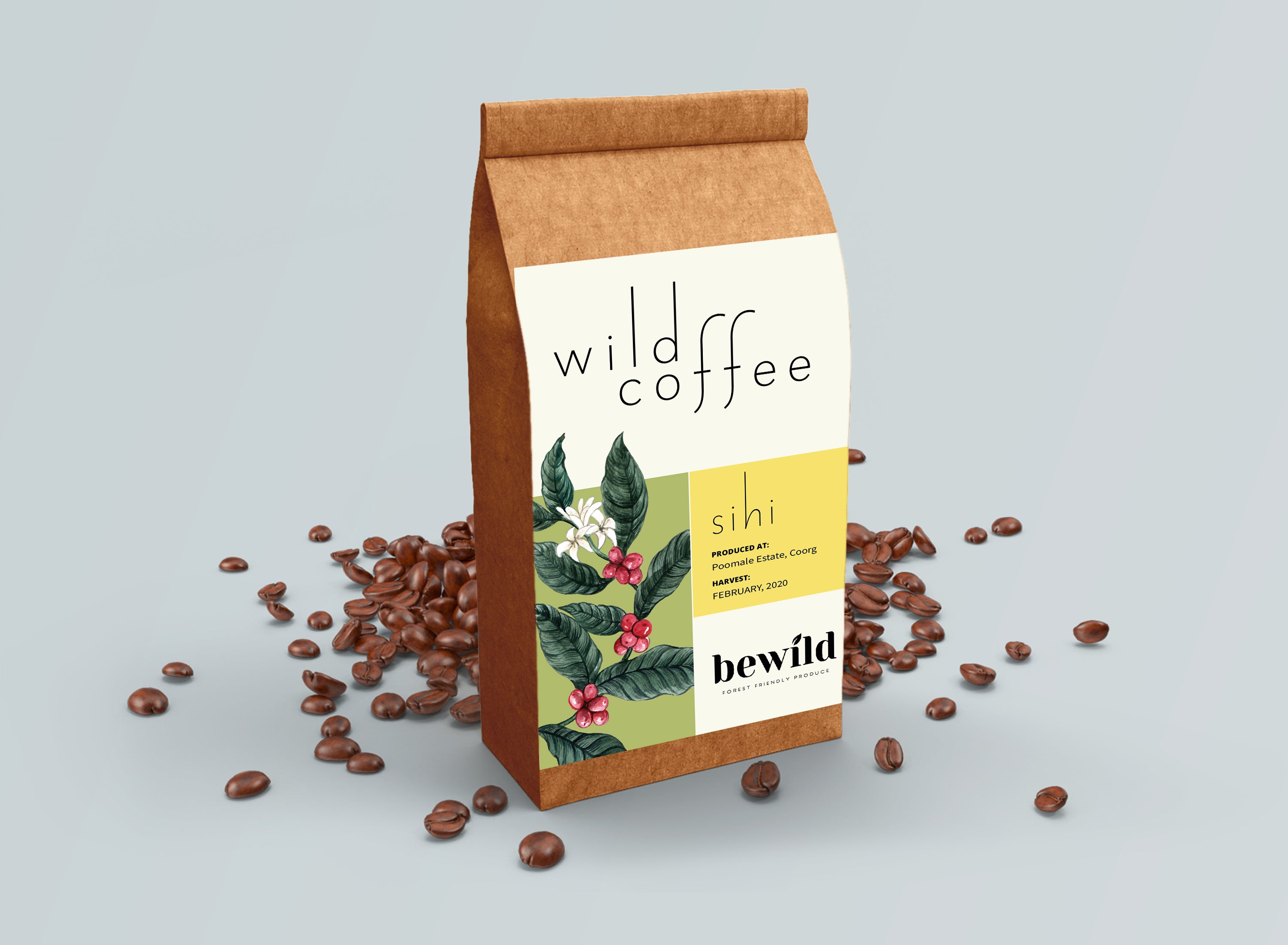 Wild Coffee, Poomaale Estate