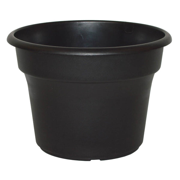 Pot Plastic Round Black