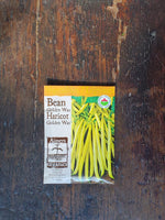 Bean Organic Golden Wax Seed