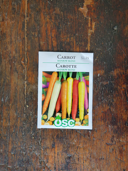 Carrot Rainbow Blend Seed