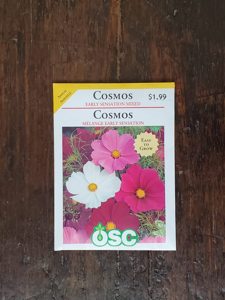 Cosmos Early Sensation Mixed Seed
