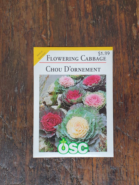 Flowering Cabbage Seed