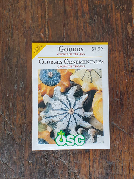 Gourds Crown of Thorns Seed