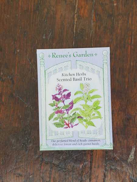 Basil Scented Trio Seed