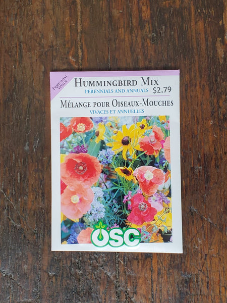 Hummingbird Mix Perennials & Annuals Seed