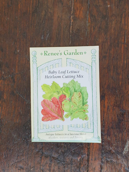 Lettuce Heirloom Cutting Mix Seed