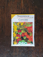 Nasturtium Tall Climbing Mixed Colours Seed