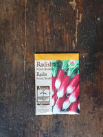 Radish Organic French Breakfast Seed