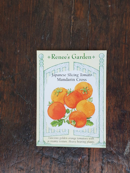 Tomato Golden Mandarin Cross Seed