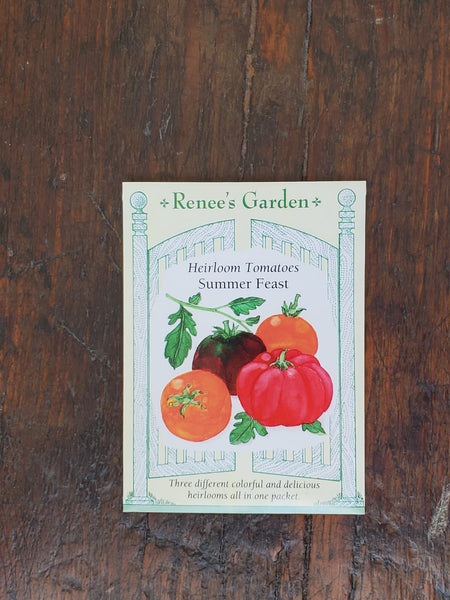 Tomato 3-Colour Summer Feast Seed