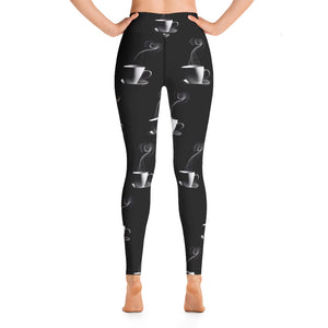 Coffee Religion Coffee Coffee Coffee Yoga Leggings
