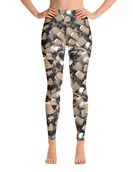 COFFEE RELIGION Yoga Leggings