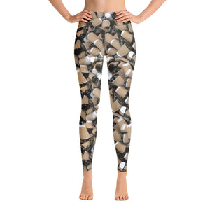 Open image in slideshow, COFFEE RELIGION Yoga Leggings